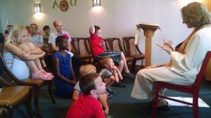 German church Children's moment