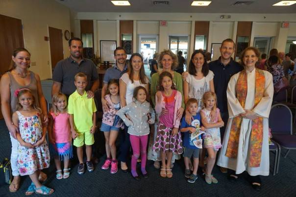 First Communion families